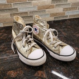 Girls converse high top sz 12